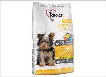 1ST CHOICE Nourriture sèche: Formule Chiot Petite Race pour chien