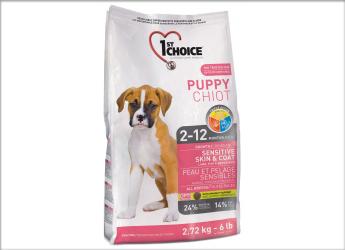 1ST CHOICE Nourriture sèche: Formule Chiot Agneau et Poisson pour chien