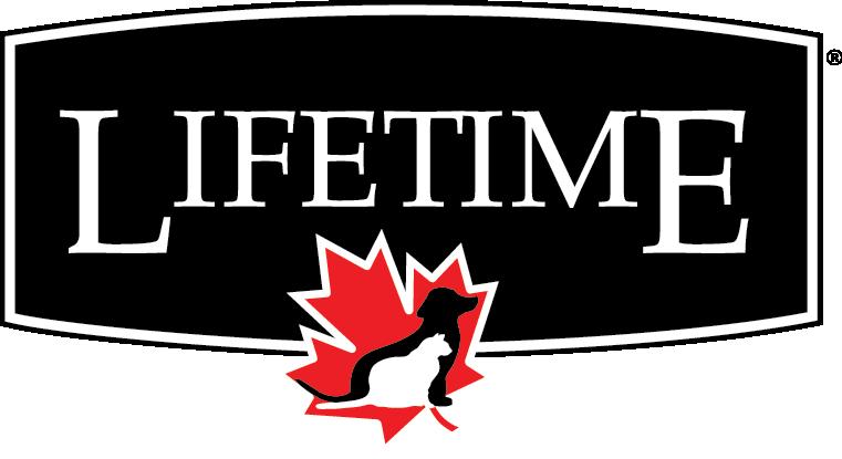 Logo Lifetime, nourriture pour chiens