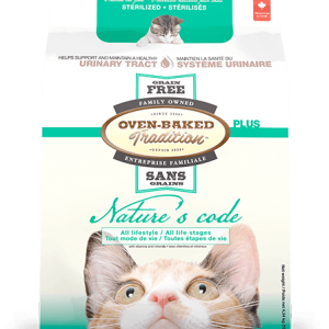 Nourriture sèche pour chat OVEN BAKED NATURE'S CODE