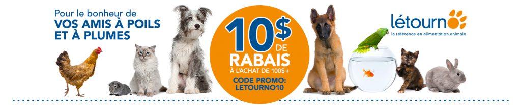 rabais promotion letourno boutique animaux