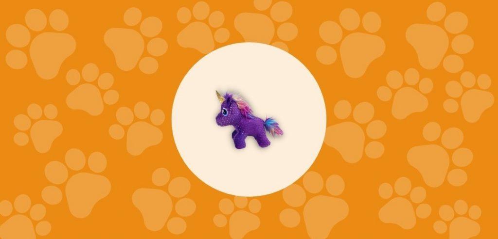 Le jouet Licorne Enchanted Buzzy Unicorn de Kong