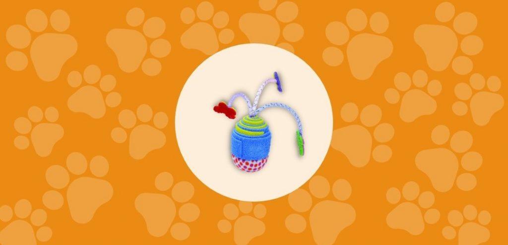 Le jouet à chat Eva oscillant de TURBO